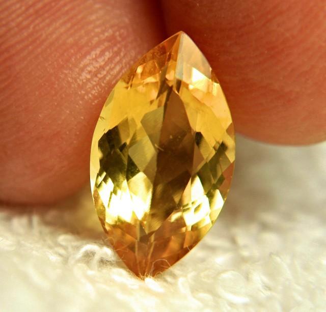 4.42 Carat VS/SI Golden Beryl - Gorgeous