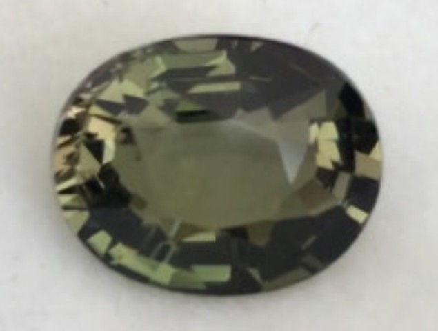 2.6ct  Lustrous Olive Green Oval Tourmaline -  SL51 G602