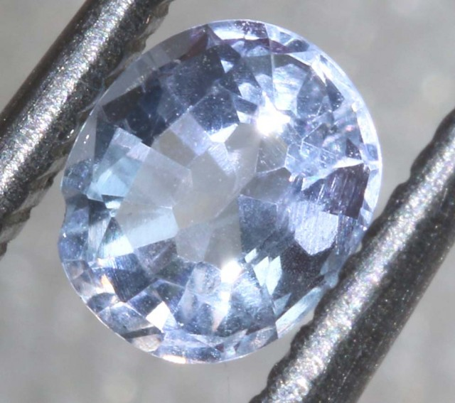 0.4CTS HACKMANITE SODALITE FACETED AFGHANISTAN STONE