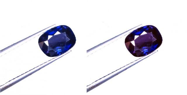 Unheated Natural Blue C/C Ceylon Sapphire 1.97 Ct. (00433)