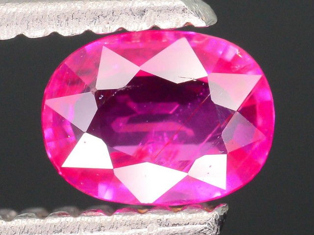 GiL Certified Unheated 0.53 ct Natural Ruby SKU.2