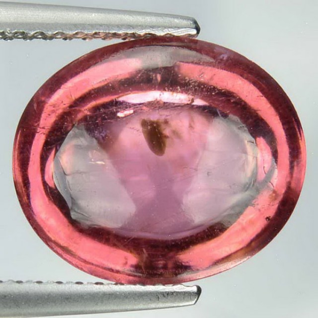 8.19 Cts Natural Pink Tourmaline Cabochon Mozambique Gem