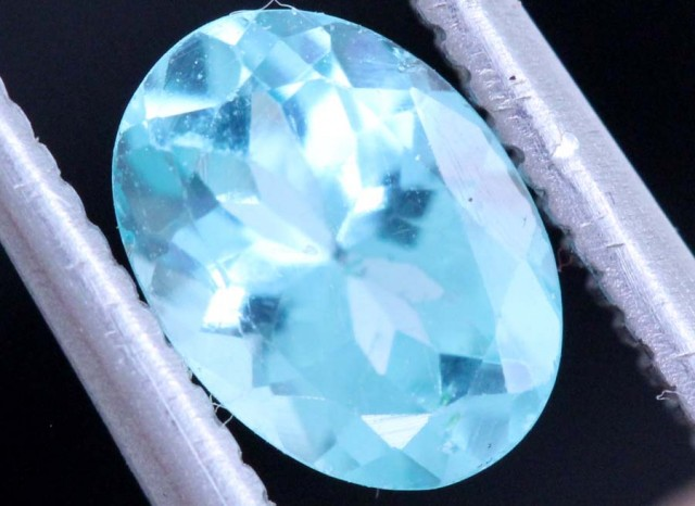 BLUE ZIRCON FACETED STONE 0.75 CTS PG-465