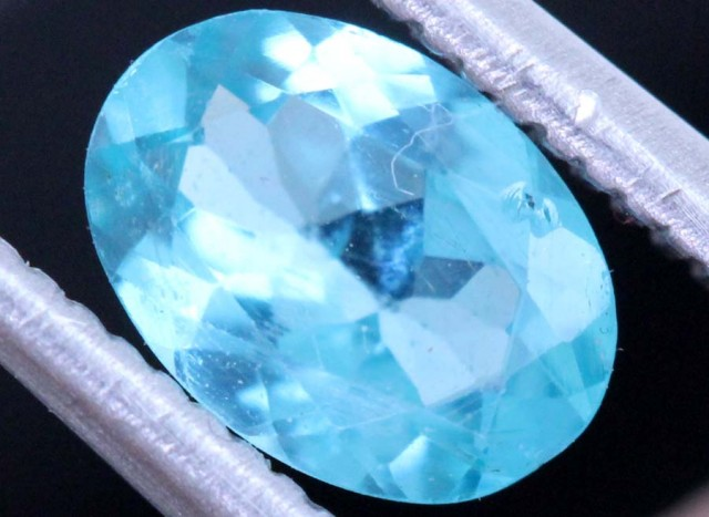 BLUE ZIRCON FACETED STONE0.70  CTS PG-464