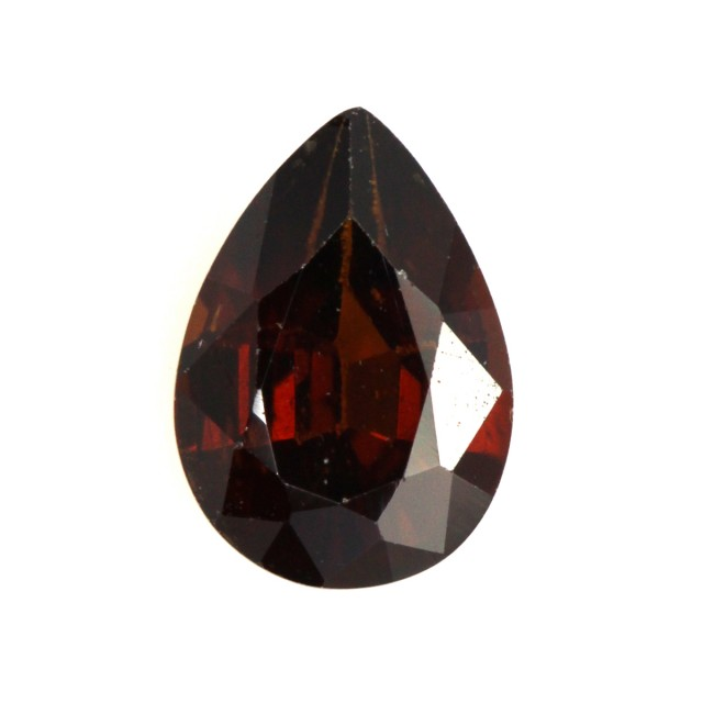 1.05cts Natural Australian Brownish/Red Zircon Pear Shape