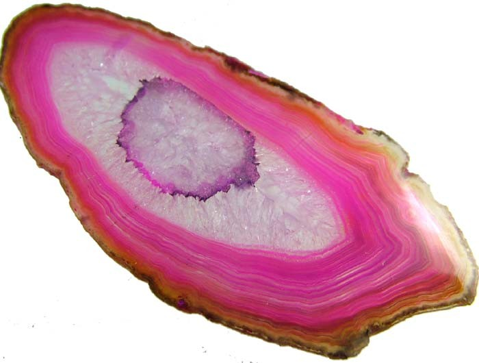 COLOURFUL AGATE SLICE  23 GRAMS   [MX720]