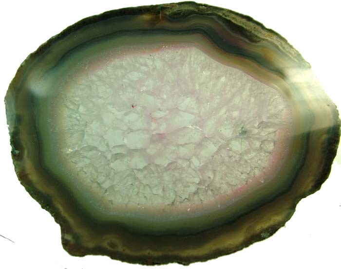 COLOURFUL AGATE SLICE 91 GRAMS   [MX792]