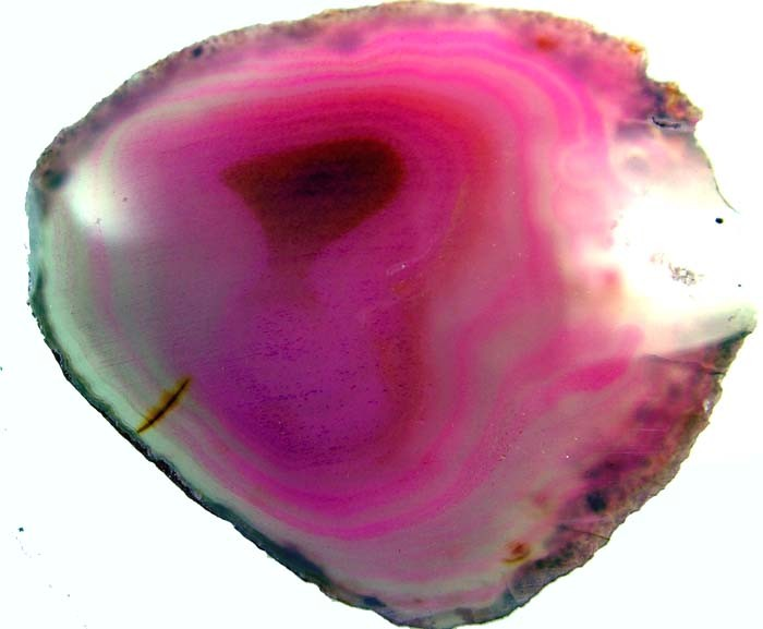 COLOURFUL AGATE SLICE 66 GRAMS   [MX799]
