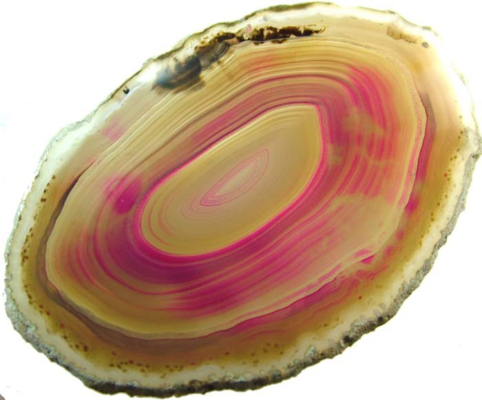 COLOURFUL AGATE SLICE  57 GRAMS   [MX802]