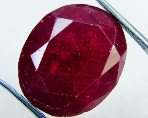 FREE SHIP LARGE AFRICAN RUBY STONE 36.8 CT GWE 84-7