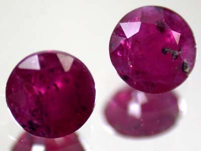 HIGH GRADE SELECTED RUBY 1.50 CTS 2 PIECES GW 729