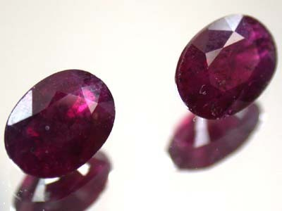 HIGH GRADE SELECTED RUBY 2.15 CTS 2 PIECES GW 736
