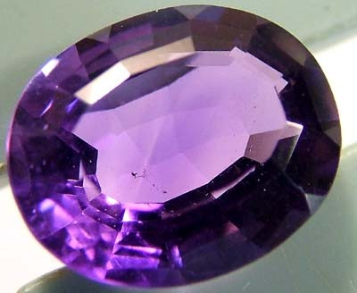 3.40 CTS AMETHYST NATURAL FACETED STONE  FN 3139 (TBG-GR)