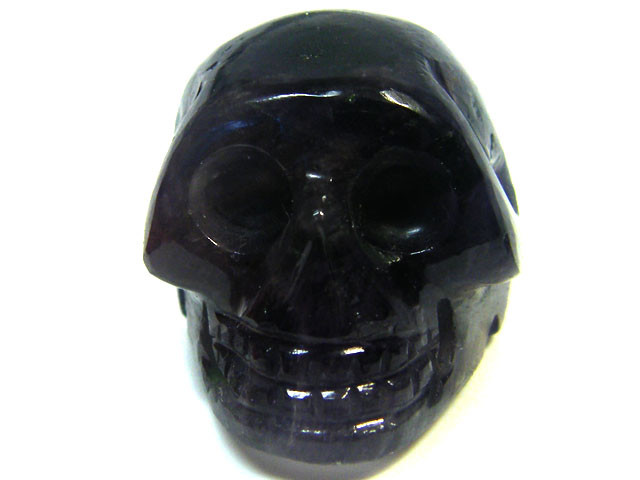 AMETHYST SKULL  SKELETON CARVING    69.85CTS   AG487