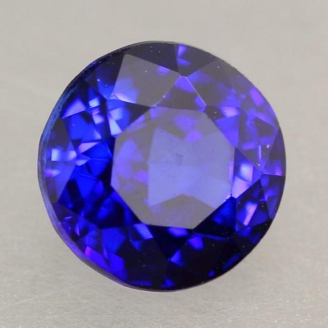 125Ct Natural Royal Blue Sapphire Round Cut