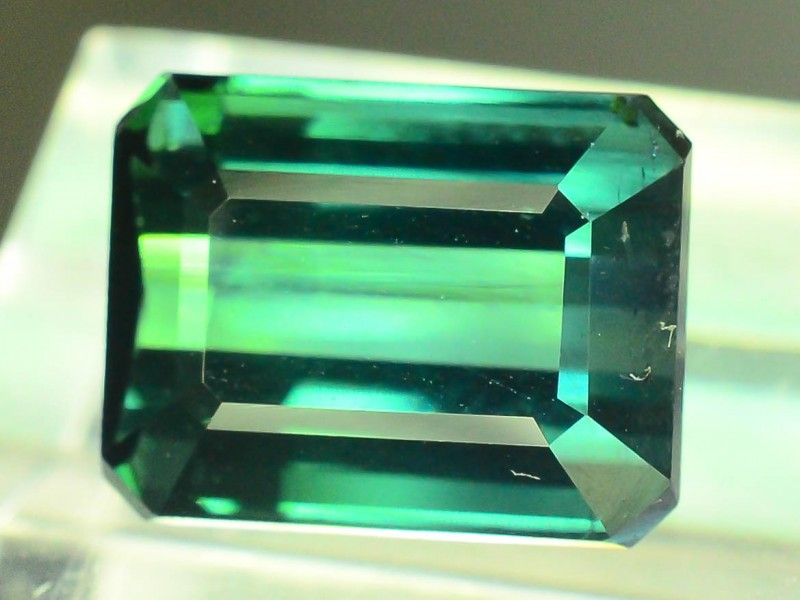 Certified 4.90 cts Flawless Untreated Blue Afghan Tourmaline Gemstone