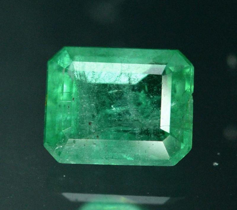 1.25 Dazzling Zambian Emerald Gemstone