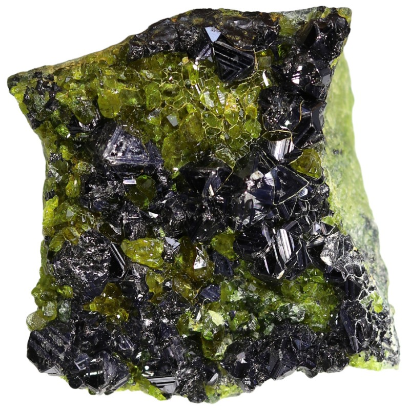 297.65 CTS EPIDOTE AND MAGNETITE SPECIMEN-PAKISTAN  [MGW5313]
