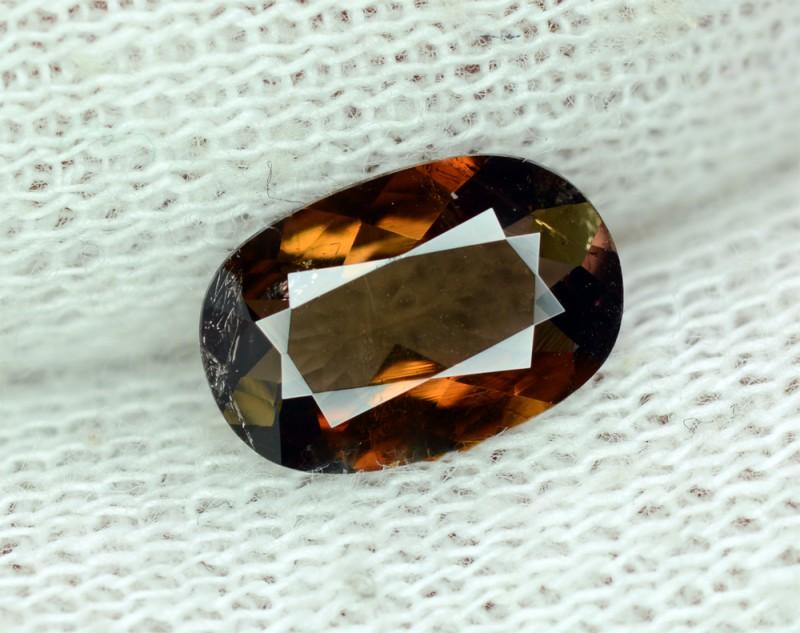 1.25 Natural Multicolor Axinite Rare Collector`s Gem~Parachinar