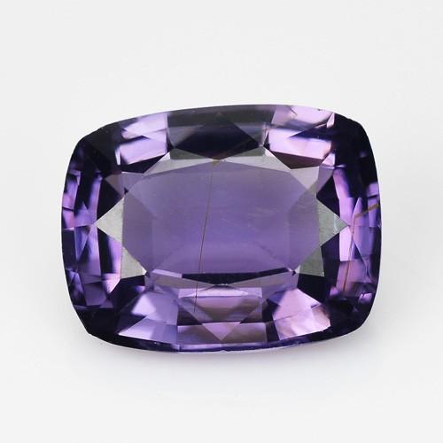 1.55 Cts Natural Purple Blue Spinel Cushion Sri Lanka