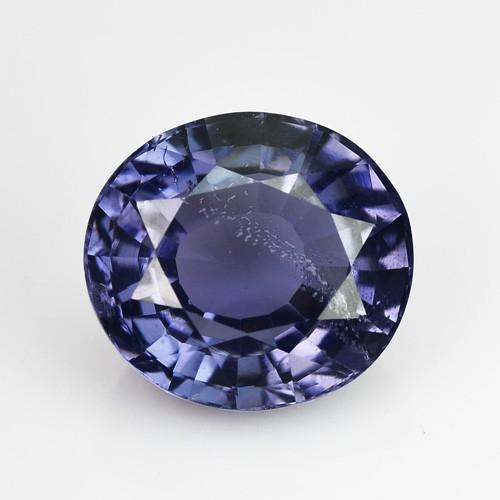2.03 Cts Natural Cobalt Blue Spinel Oval Sri Lanka