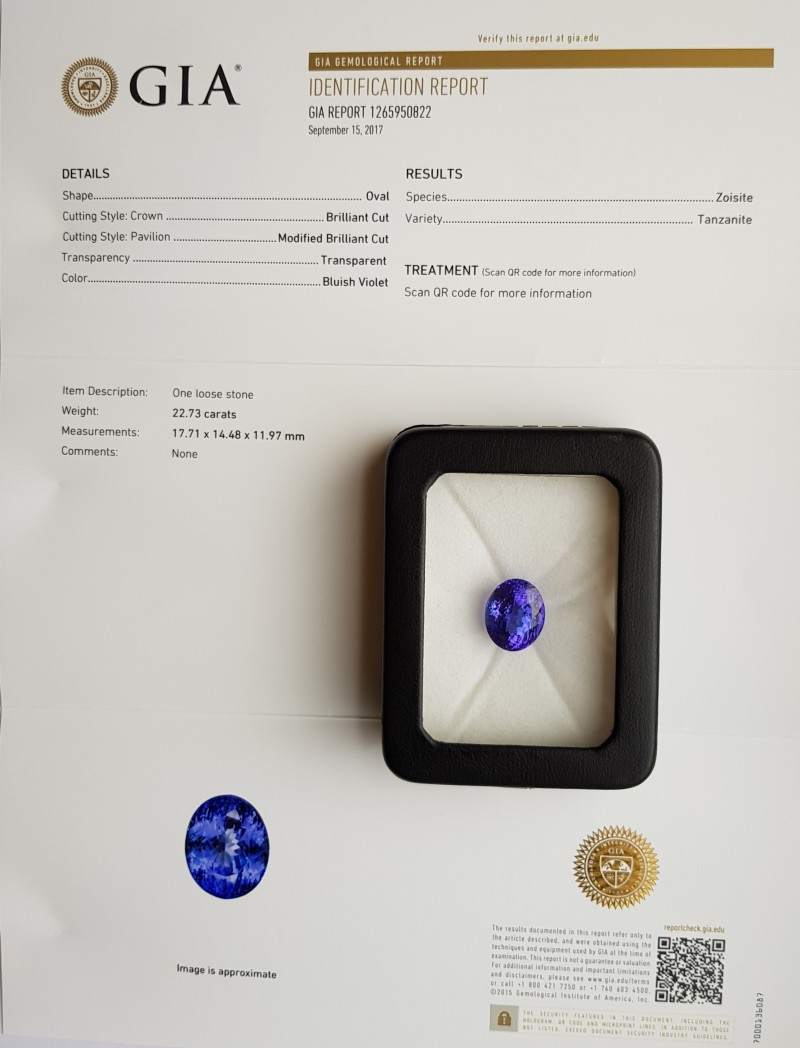 certified ring diamond i and gia tanzanite platinum