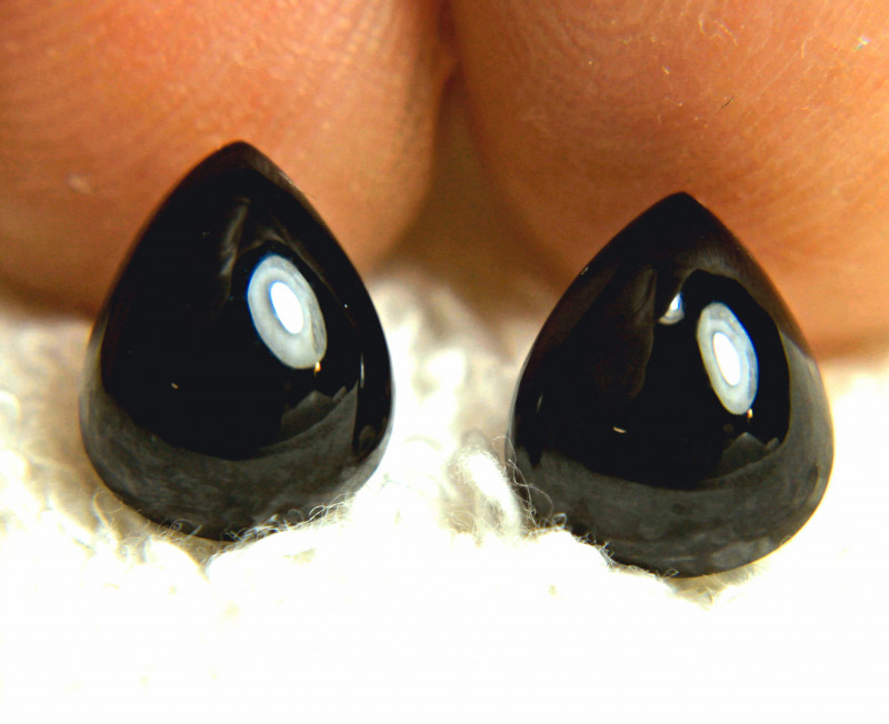 7.13 Tcw. Matching Black Spinels - Gorgeous