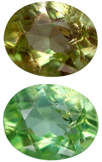 0.33 Carats Gil Certified Natural Color Change Green To Red Alexandrite