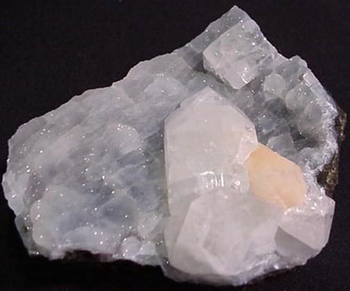Apophylite Stilbite rare mineral specimen