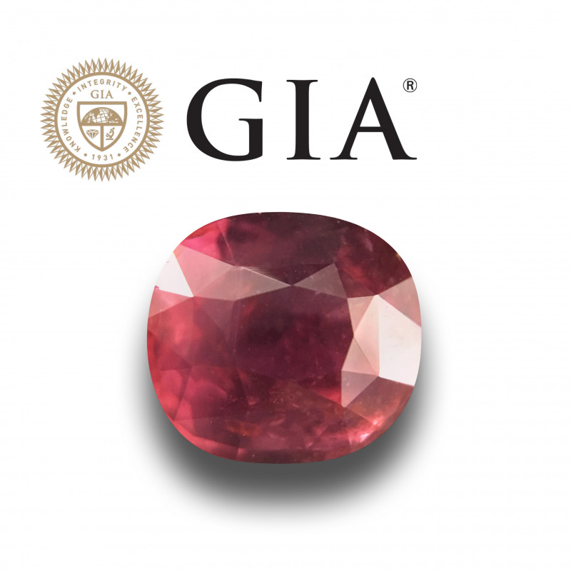 GIA Certified Natural unheated Ruby |Loose Gemstone| Mozambique