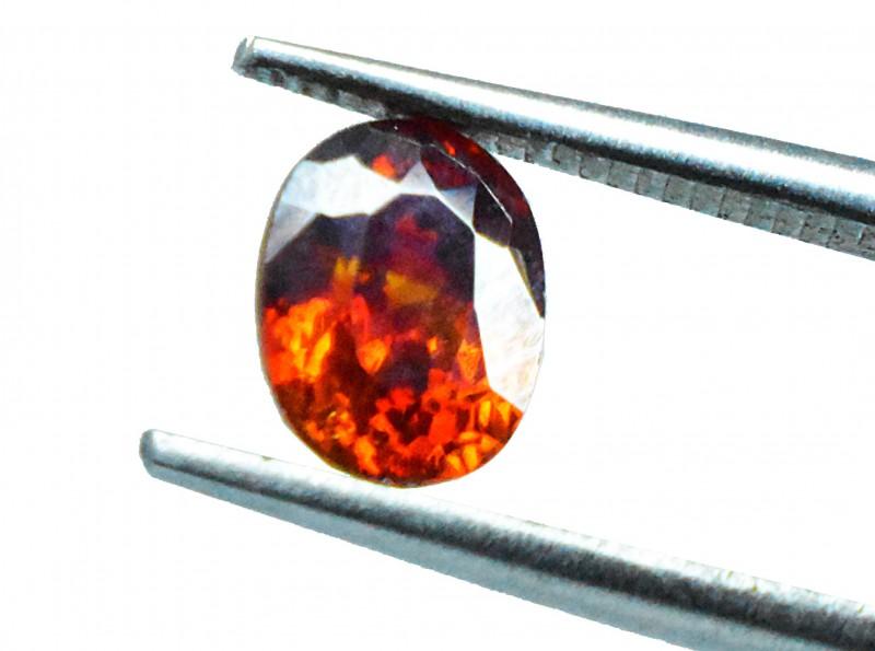 1.15 Ct Natural Sensational Orange Sphalerite