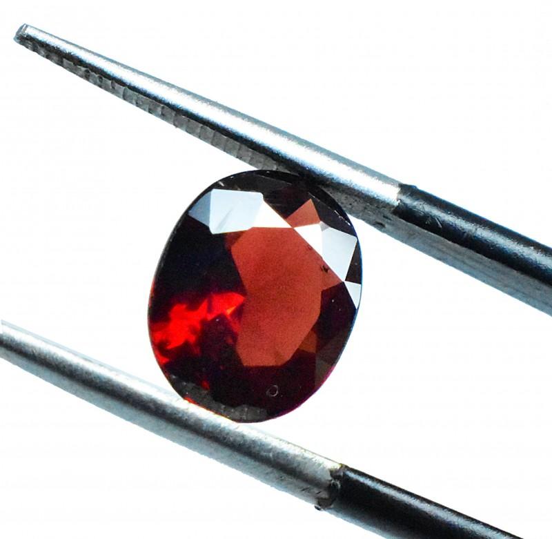 2.07 Ct  Oval Brilliant Natural Medium Purplish Red Rhodolite Garnet