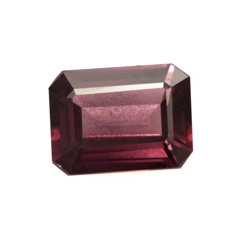 1.94cts Natural Rhodolite Garnet Emerald Cut