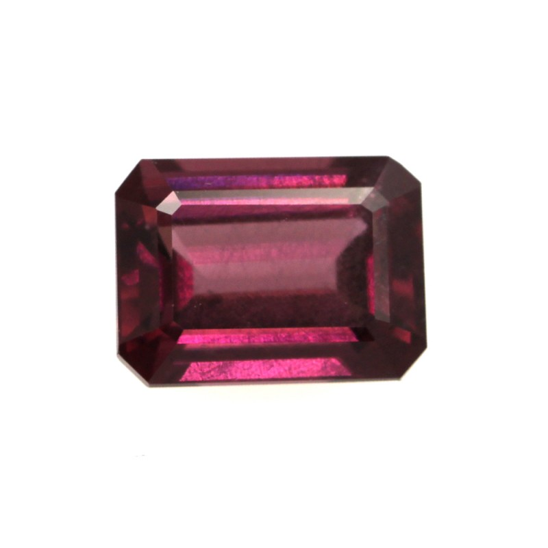 1.91cts Natural Rhodolite Garnet Emerald Cut