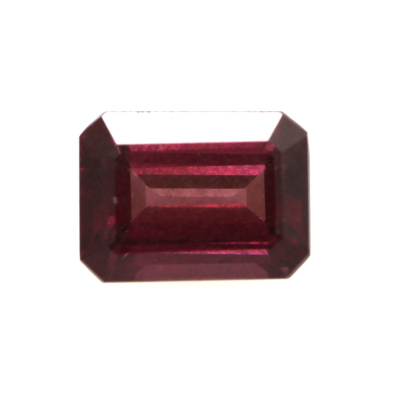 1.65cts Natural Rhodolite Garnet Emerald Cut