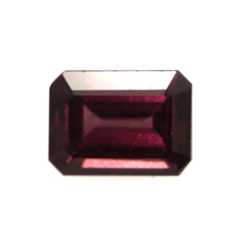 1.81cts Natural Rhodolite Garnet Emerald Cut