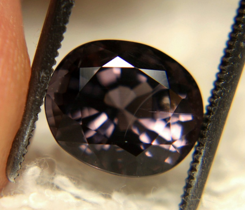 3.95 Carat VS/SI Purple/Violet Spinel - Beautiful