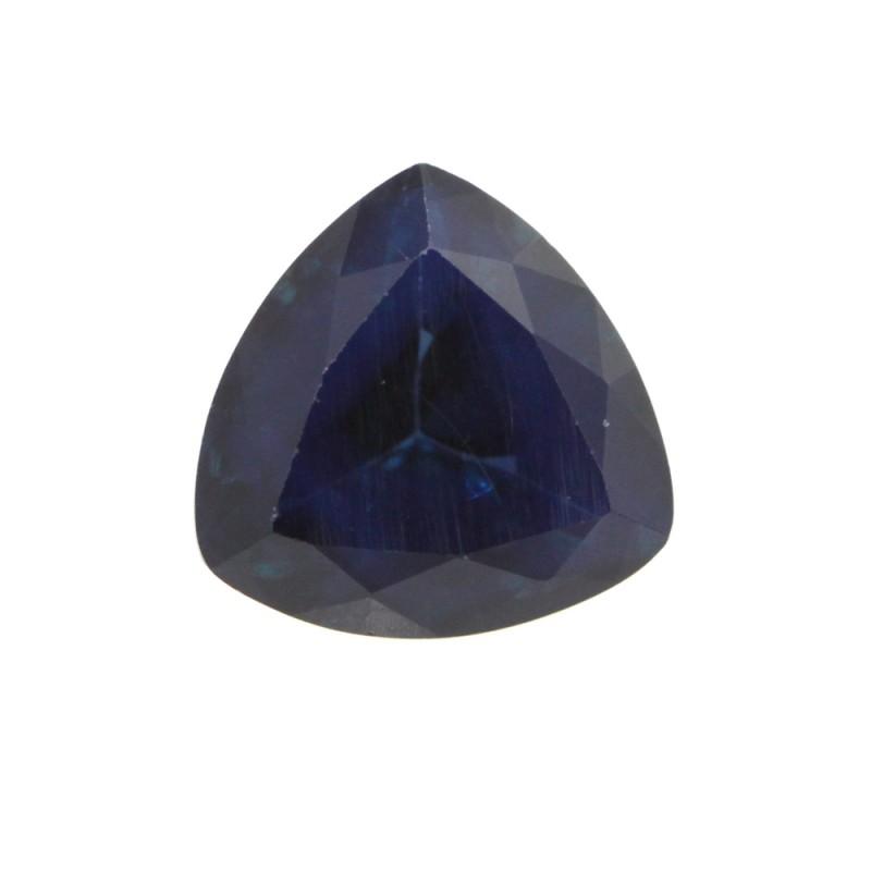 1.19cts Natural Australian Blue Sapphire Trillion Shape