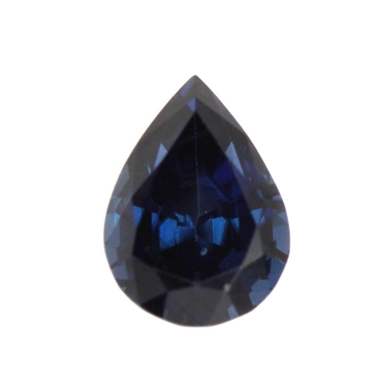 0.88cts Natural Australian Blue Sapphire Pear Shape