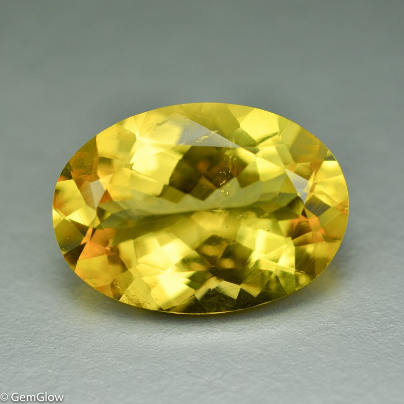 10.16 Cts Dazzling Rare Yellow Danburite Collection