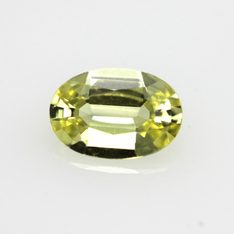 0.42cts Natural Australian Yellow Sapphire Oval Shape