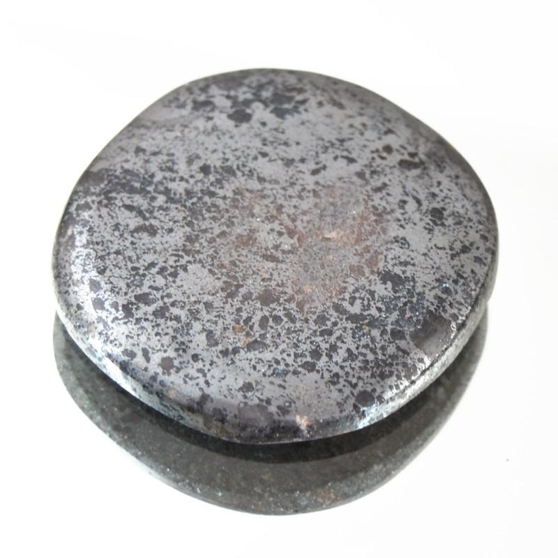 Genuine 56.00 Cts Untreated Pyrite Cab