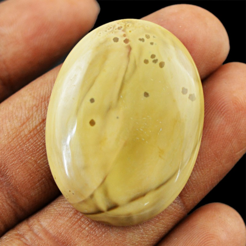 Genuine 30.50 Cts Untreated Jasper Oval Shape Cab