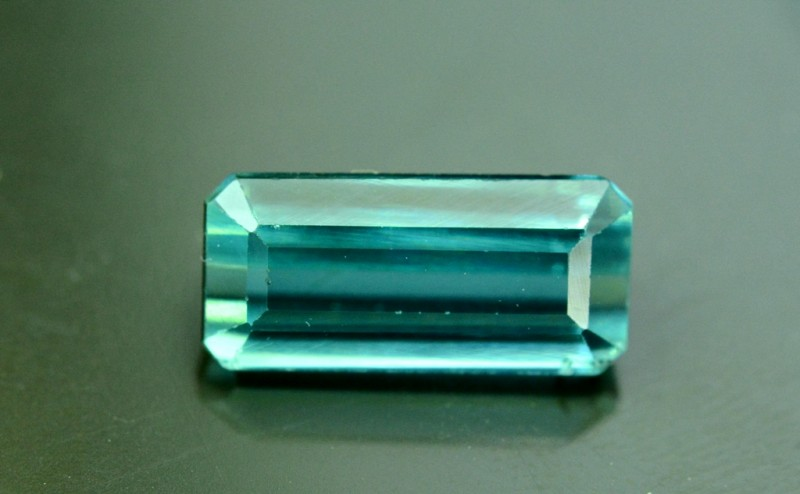 2.15 cts Untreated Indicolite Tourmaline from Afghanistan