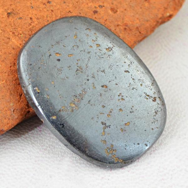 Genuine 64.50 Cts Pyrite Untreated Cab