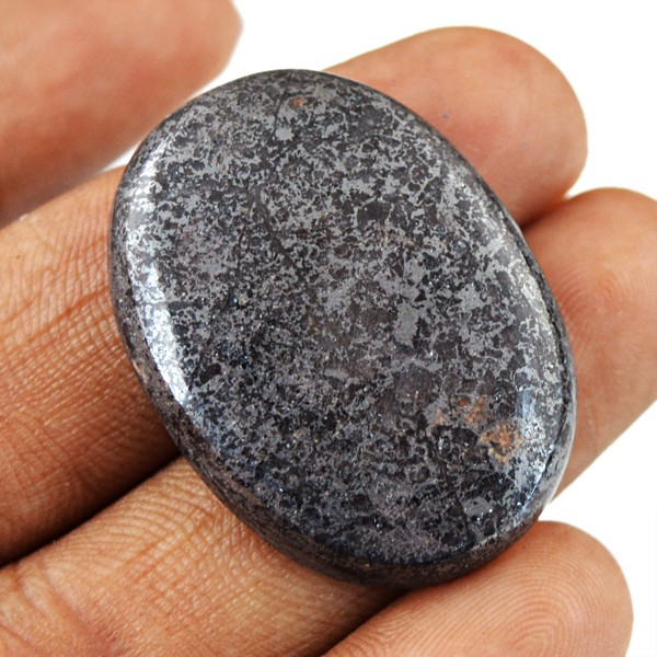 Genuine 45.50 Cts Pyrite Oval Shape Cab