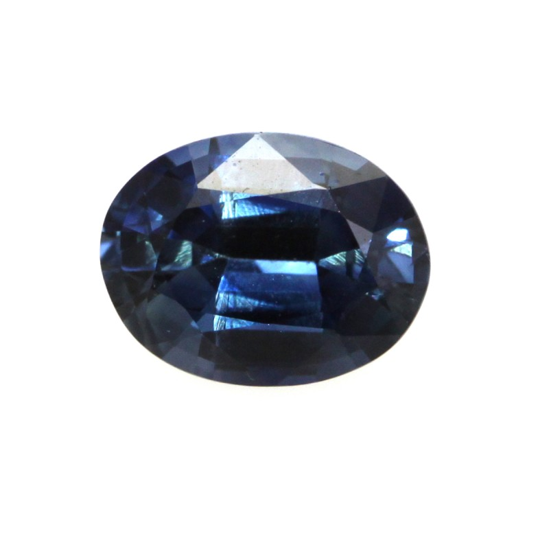 1.18cts Natural Australian Blue Sapphire Oval Shape