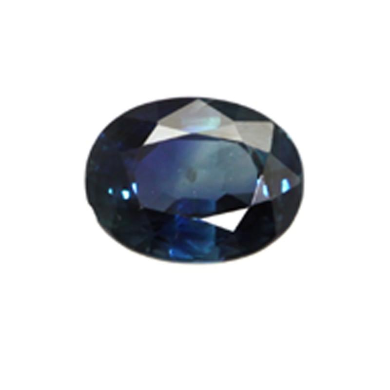 1.04cts Natural Australian Blue Sapphire Oval Shape