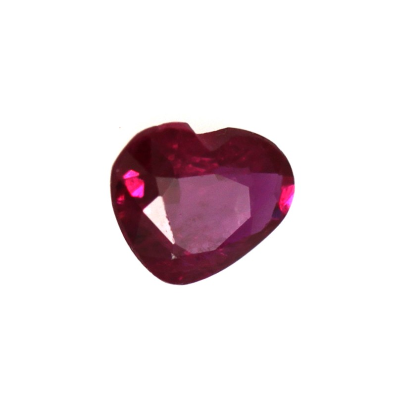 0.29cts Natural Ruby Heart Shape