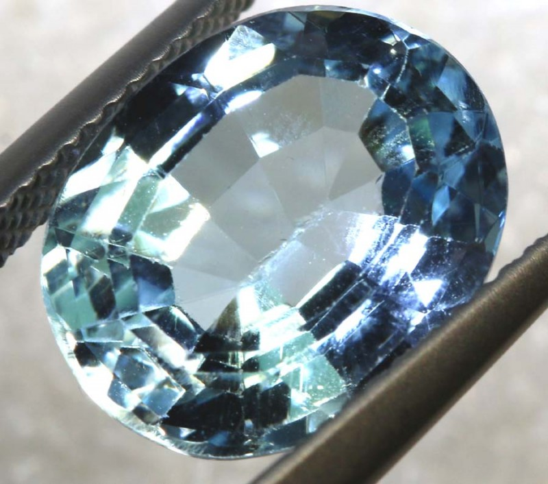 6.25CTS BLUE TOPAZ  NATURAL STONE FACETED TBG-2591